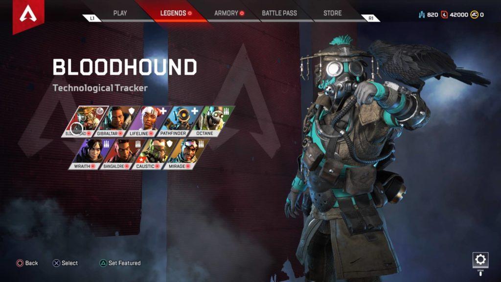 Apex Legends Bloodhound