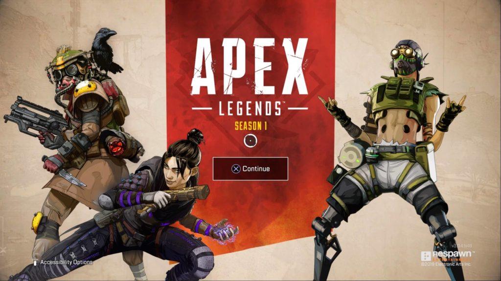 Apex Legends Season 1 Screen