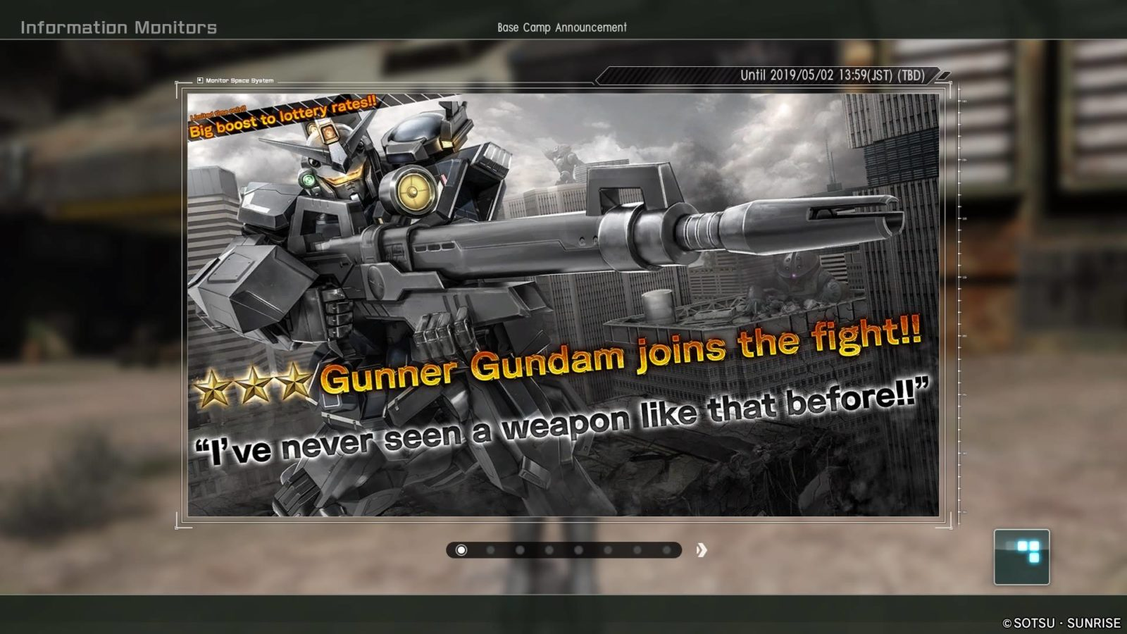 Gunner Gundam Joins The FIght