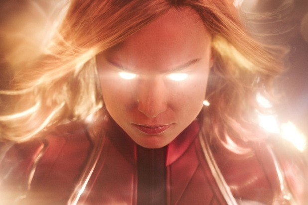 Captain Marvel saves Iron Man and Nebula in Avengers Endgame