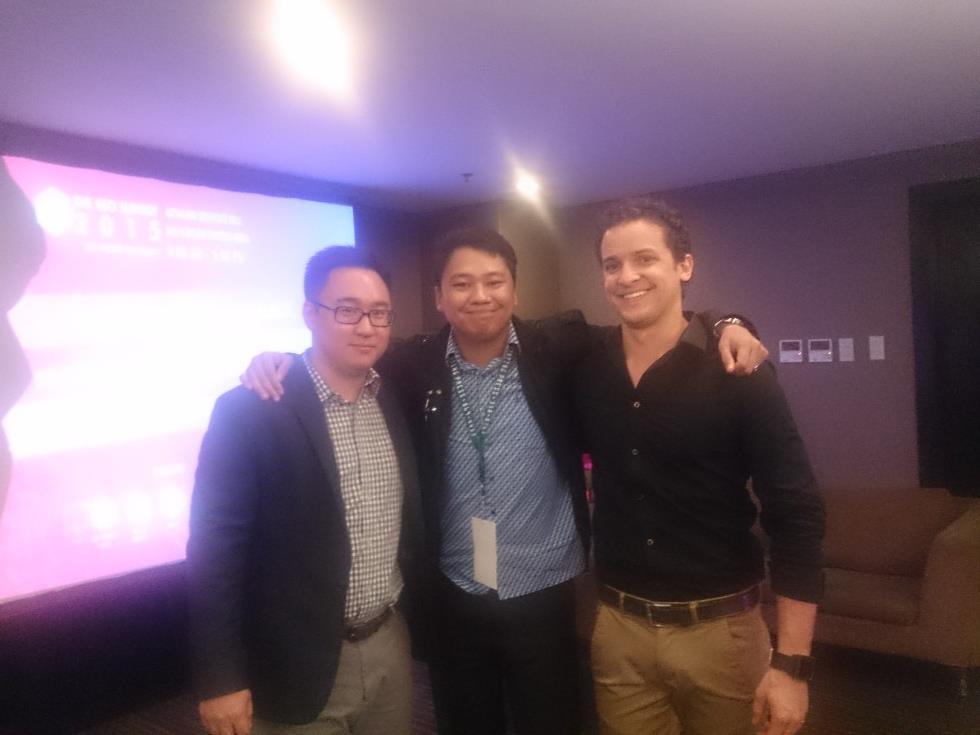 Sam Nam, Michael and Grant Merriel