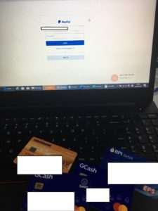 Login to Paypal using your secondary account.