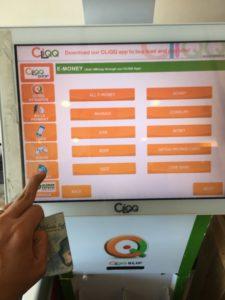 Select E-money on cliqq