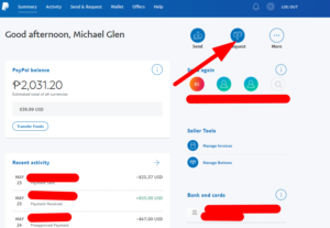 creating an invoice on paypal desktop version