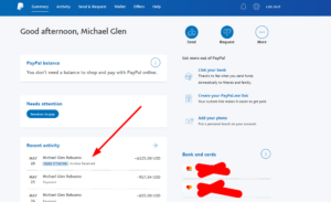 Paying invoice via Paypal