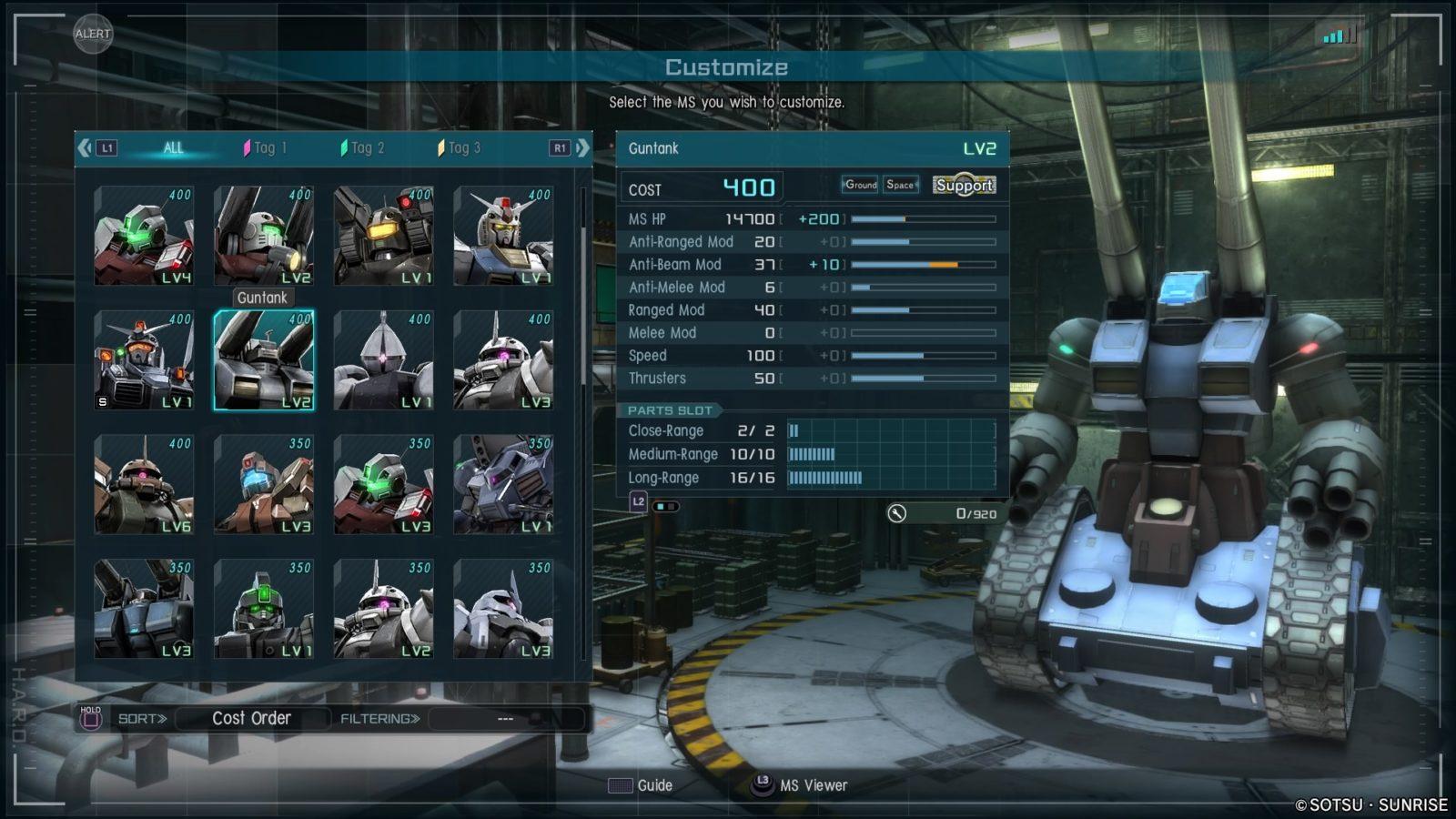 Guntank GBO2